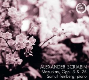 A. Scriabin - Mazurkas Op. 3 and Op. 25 - Samuel Feinberg (piano)-Piano-Mazurkas