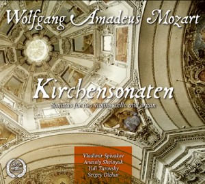 W. A. MOZART - CHURCH SONATAS-Organ-Sacred Music