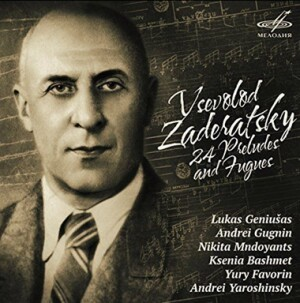 V. ZADERATSKY - 24 Preludes and Fugues-Piano-Instrumental