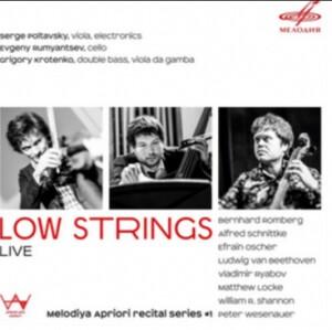 B. ROMBERG - A. SCHNITTKE - E. OSCHER - Low Strings - LIVE - Melodiya Apriori Recital Series # 1- S.Poltavsky, viola-Trio-Chamber Music