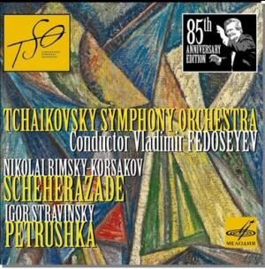 N.RIMSKY-KORSAKOV - Scheherazade - I.STRAVINSKY - Petrushka - Tchaikovsky Symphony Orchestra - Vladimir Fedoseev, conductor-Orchestre-Ballet Music