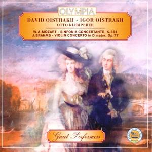 D. OISTRAKH, O. KLEMPERER - W. A. Mozart, J. Brahms-Violin-Great Performers