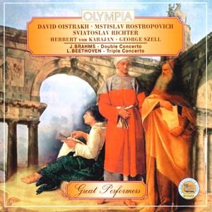 Brahms, Beethoven - D.Oistrakh, M.Rostropovich, S.Richter, H.v.Karajan, G.Szell-Violin
