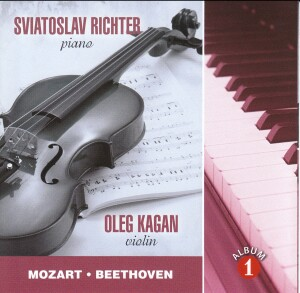 S. RICHTER, O. KAGAN - W. A. Mozart, L. Beethoven-Piano
