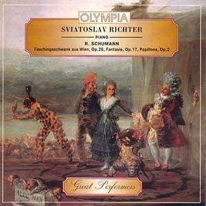 Schumann - Faschingsschwank aus Wien, Op.26 / Fantasie, Op.17 / Papillons, Op.2 - Sviatoslav Richter-Piano-Great Performers