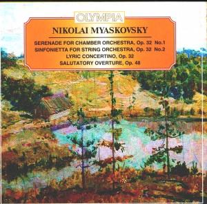 Nikolai Miaskovsky - Serenade, Sinfonietta, Concertino, Op. 32-Chamber Orchestra-Chamber Music