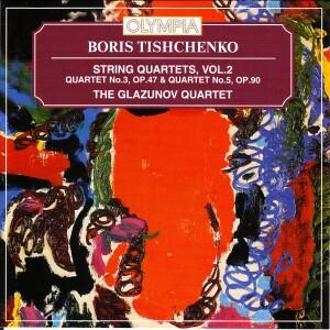 B.I. Tishchenko - String Quartets. Vol. 2-Quartet-Chamber Music