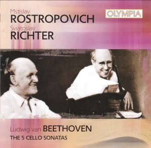 Rostropovich - Richter: Beethoven Cello Sonatas Nos. 1-5 -Great Performers