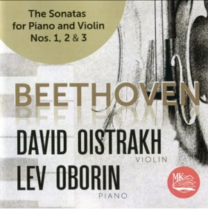 L.V.BEETHOVEN - The Sonatas for piano and violin No. 1, 2 & 3 - D.Oistrakh, violin - L.Oborin, piano-Piano a Housle-Instrumental