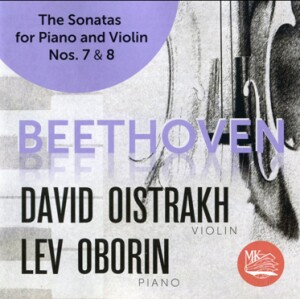 L.V.BEETHOVEN - The Sonatas for piano and violin No. 7 & 8 - D.Oistrakh, violin - L.Oborin, piano-Piano and Violin-Instrumental