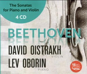 L.V.BEETHOVEN - The Sonatas for piano and violin No. 1, 2, 3, 4, 5, 6, 7, 8, 9 & 10 - D.Oistrakh, violin - L.Oborin, piano-Piano a Housle-Instrumental