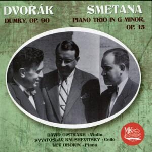 A.DVORAK - B.SMETANA - Piano Trios - D.Oistrakh, violin - S.Knushevitsky, cello - L.Oborin, piano-Piano Trio-Chamber Music