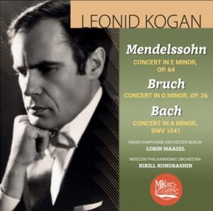 M.BRUCH - F.MENDELSSOHN-BARTHOLDY - Concerto for Violin and Orchestra - Leonid Kogan, violin
