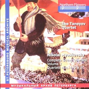 N. Miaskovsky - Complete String Quartets. Vol. 2, Quartets Nos. 4, 5, 6-Quartet-St. Petersburg Musical Archive