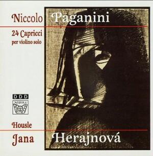 N. Paganini - 24 Capricci per violinno solo, Op. 1 - J.Herajnova, violin -Violin-Instrumental