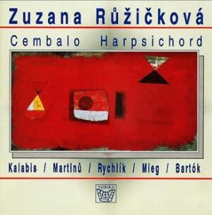 KALABIS, MARTINU, BARTOK, etc. -  Z. Ruzickova  - Cembalo Harpsichord -Harpsichord-Instrumental