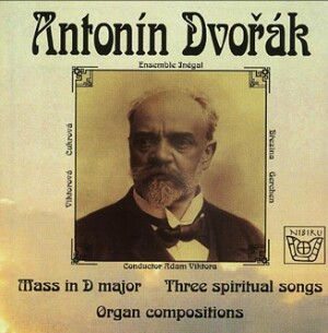 "A. Dvořák - The ""Lužany"" Mass in D major - Three spititual songs - A. Viktora, organ  -Voice and Organ-Sacred Music"