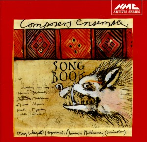 Mary Wiegold's Songbook - Mary Wiegold, soprano-Songs-Chamber Music