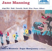Jane Manning, soprano - Recital-Voices and Chamber Ensemble-Vocal Collection