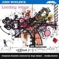 John Woolrich - Lending Wings-Voices and Chamber Ensemble-Vocal Collection