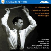 Benjamin Britten - Les Illuminations-Voices and Orchestra-Vocal Collection