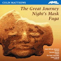Colin Matthews - The Great Journey-Voices and Chamber Ensemble-Vocal Collection