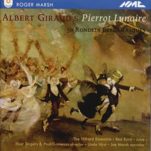Roger Marsh - Pierrot Lunaire (50 Rondels Bergamasques)-Voices and Chamber Ensemble-Vocal Collection