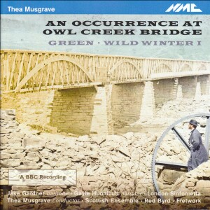Thea Musgrave - An Occurrence at Owl Creek Bridge-Voices and Chamber Ensemble-Vocal Collection