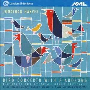 Jonathan Harvey - Bird Concerto with Pianosong-Piano