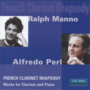 Alfredo Perl / Ralph Manno: French Clarinet Rhapsody-Piano-Instrumental