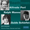 Beethoven: Trios for Piano, Clarinet and Cello Op. 11 & Op. 38 - Alfredo Perl / Guido Schiefen / Ralph Manno -Piano and Cello