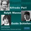 Beethoven: Trios for Piano, Clarinet and Cello Op. 11 & Op. 38 - Alfredo Perl / Guido Schiefen / Ralph Manno -Piano and Cello