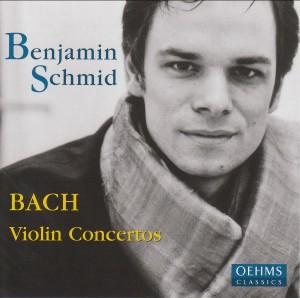 Benjamin Schmid: Johann Sebastian Bach: Violin Concertos-Violin-Chamber Music