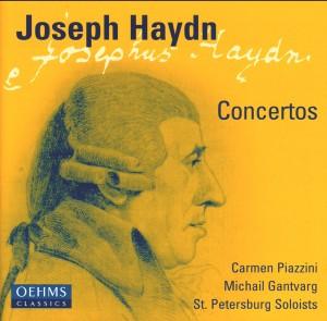 F. J. Haydn - Concerts - St. Petersburg Soloists / M. Gantvarg, violin, conductor / C. Piazzini, piano-Violin