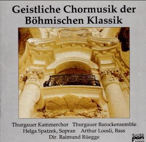 Geistliche Chorusik der Böhmischen Klassik-Baroque