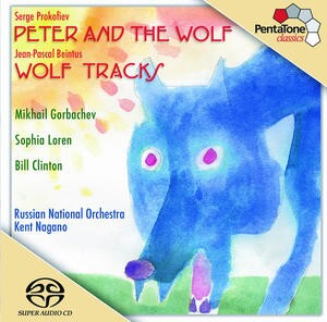 S.Prokofiev: Peter and the Wolf, Jean-Pascal Beintus: Wolf Tracks-Orchestral Works