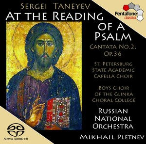 """S.I. Taneyev - """"At the Reading of a Psalm"""", Cantata No.2, Op.36 -Choir-Sacred Music"""