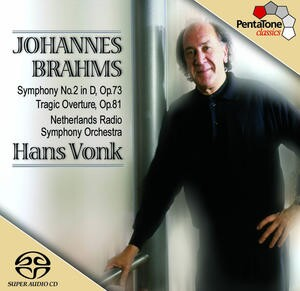 J. Brahms: Symphony No.2 in D, Op.73,  Tragic Overture, Op.81 - Netherlands Radio Symphony Orchestra - H. Vonk-Orchestra-Orchestral Works