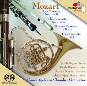 Mozart: Wind Concertos: Concertgebouw Chamber Orchestra (2006) -Chamber Orchestra-Wind Music