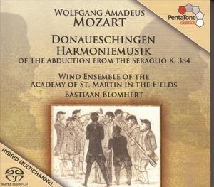 Mozart: Donaueschingen Harmoniemusik (from Die Entführung aus dem Serail)-Ensemble-Wind Music