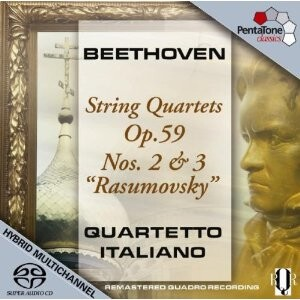 L.van Beethoven - String Quartet Rasumovsky No.2 and  No. 3 - Quartetto Italiano-String instruments