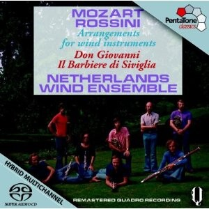 Mozart - Rossini: Arrangements for wind instruments - Don Giovanni - Il Barbiere di Siviglia: Netherlands Wind Ensemble-Wind Music