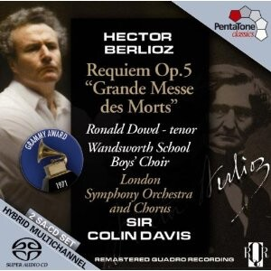 H. Berlioz  - Requiem Op.5 - Grande Messe des Morts - R. Dowd - tenor / Wandsworth School Boys' Choir /  London Symphony Orchestra - Sir C. Davis-Choir