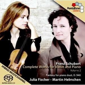 F.P. Schubert - Complete Works for Violin and Piano, Vol.2: J. Fischer, violin, piano - M. Helmchen, piano-Piano