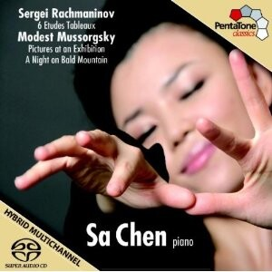 S. Rachmaninov - 6 Etude Tableau, M.  Mussorgsky - A Night on Bald Mountain, Pictures at an Exhibition - Sa Chen, piano-Piano-Instrumental