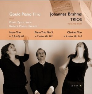 BRAHMS TRIOS - VOLUME TWO - Gould Piano Trio-Piano-Instrumental
