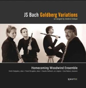 J.S. BACH - GOLDBERG VARIATIONS - Homecoming Woodwind Ensemble-Oboe