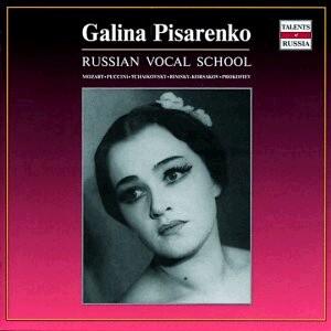 """Opera Arias - Galina Pisarenko, soprano - Bolshoi Theatre Orchestra - W. A. Mozart- Opera """"Le Nozze di Figaro""""/ Puccini - """"La Boheme""""/ etc...-Opera-Russian Vocal School"""