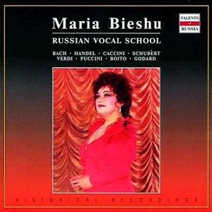 Opera Arias - Maria Bieshu, soprano - J. S.Bach - F. Schubert - G. Verdi - G. Puccini - G. F. Händel, etc…-Opera-Russian Vocal School