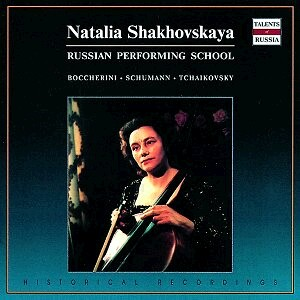 Natalia Shakhovskaya plays Boccherini, Schumann and Tchaikovsky - N. Shakhovskaya,cello - Symphony Orchestra of the Moscow State Philharmony -Cello and Orchestra-Cello Concerto
